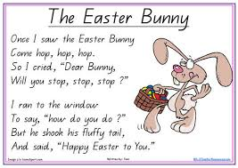 free easter speeches the easter bunny poem