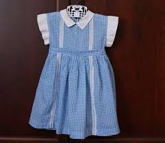 blue and white gingham dress dress yp