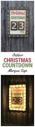 outdoor christmas countdown marquee sign marquee sign outdoor
