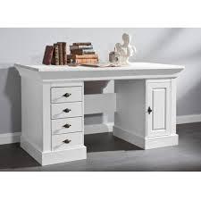 Schreibtisch Mit Aufsatz Schreibtisch Bergen Weiß At42705 Möbilia De