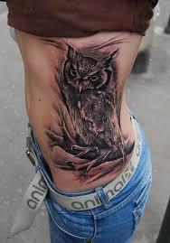 50 amazing and nice owl bird tattoos golfian com