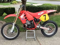 motocross bike setup 1989 honda cr500 original condition hrc u0027s bike check vital mx