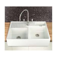 Ceramic Kitchen Sinks Uk Villeroy Boch Berlioz 80 Bowl 895mm X 600mm Apron Fronted