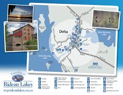 Delta Interactive Route Map by Township Of Rideau Lakes Heritage Delta