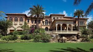 grand seaside mediterranean beach villa traces its architectural