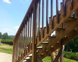 What Is A Banister On Stairs by Deck Railing And Stairs