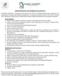 100 cover letter for marketing assistant kahuna ventures