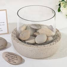 signing stones guest book glass vase for signing stones guest books pen sets signature