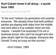 Kurt Cobain Quotes On Love by Deplorablemsemoticon On Twitter