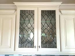 Cabinet Door Glass Insert Kitchen Cabinet Glass Doors Only Glass Insert For Cabinet Door