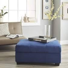 blue ottomans u0026 storage ottomans shop the best deals for dec