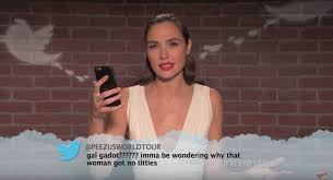 best thanksgiving tweets gal gadot jennifer lawrence and more read mean tweets collider