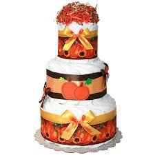fall pumpkin decoration diaper cake 63 00 diaper cakes mall