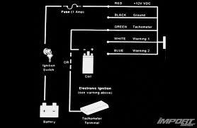 holoshift hud tachometer and shift light product highlight photo