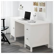 Office Desk Storage Hemnes Desk Black Brown Ikea