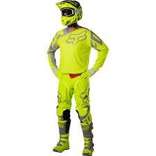 fox motocross baby clothes fox racing 2017 mx new 180 race flo yellow jersey pants motocross