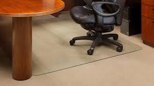 Hardwood Floor Chair Mat Glass Office Chair Mats Never Dent Mats By Vitrazza