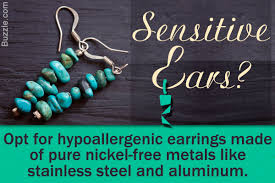sensitive earrings a really helpful guide to buy earrings for sensitive ears