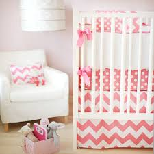 Pink And Green Crib Bedding Pink Ziggy Crib Bedding Set Rosenberryrooms