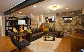 Mid Century Modern Home Designs Basement Midcentury With Atlanta