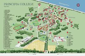 Usa Campus Map by Map And Directions Principia College