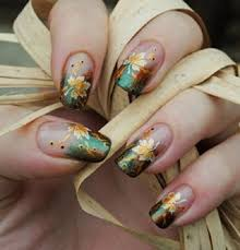 35 leaf nail art ideas golden leaves autumn nails and beauty nails