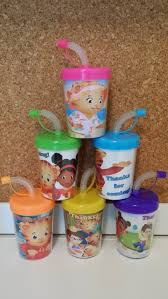 favor cups daniel tiger party favor cups personalized with thanks for coming