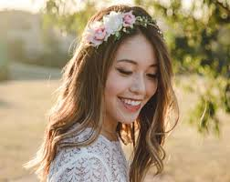 floral headpiece bohemian wedding flower crown flower crown floral