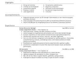manager resume objective exles hr manager resume objective exles sle strategic thinker
