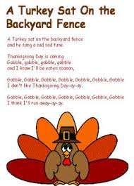 printable songs for thanksgiving happy thanksgiving