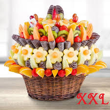 fruit arrangment of fruit will make your next business event family gathering