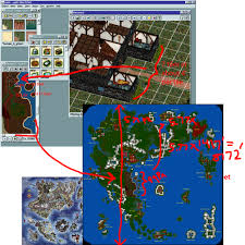 map size comparison how big was the in the isometric version of ultima 9 the