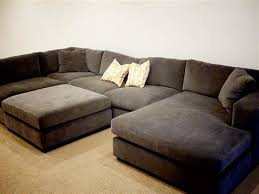 sofa with wide chaise furniture double wide chaise sofa perfect on furniture in sectional