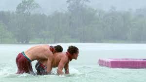 Challenge Drown Look The Castaways Spirits Drown In A Relentless Rainstorm