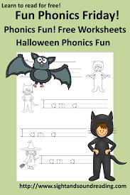 Halloween Printables For Kindergarten by Free Phonics Worksheet For Halloween Fun Activity For Kindergarten