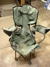reusing an old fold up chair 4 steps