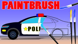 police car fire truck ambulance coloring book learn colors