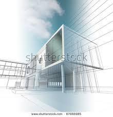 building concept construction architecture building concept stock illustration