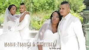 mariage congolais muriel mickael mariage congolais portugais à l etoile