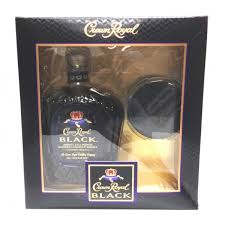 crown royal gift set crown royal black bended canadian whisky gift set 750 northlake