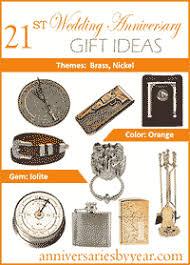 16th wedding anniversary gifts twentyfirst anniversary 21st wedding anniversary gift ideas