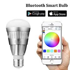 how do led light bulbs work flux bluetooth smart led light bulb smartphone controlled dimmable