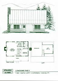 chic idea 1 story cabin floor plans 4 home home act