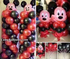 mickey mouse balloon arrangements mickey mouse balloon decoration buena mano for 2015 cebu