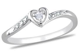 925 sterling silver v shaped heart promise ring size 5 6 7 8 9 10 julie sterling silver heart shaped promise ring with diamond