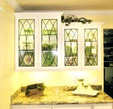 Frosted Glass Panels For Kitchen Cabinets Stained Glass Kitchen - Glass panels for kitchen cabinets