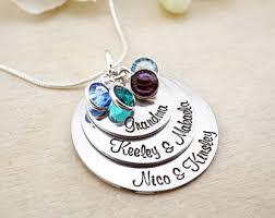 grandmother s necklace necklace etsy