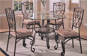 glass top tables with metal base stunning glass topped dining table and chairs 55a 307 metal base