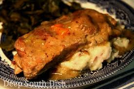 What Is A Country Style Rib - deep south dish slow braised country style ribs