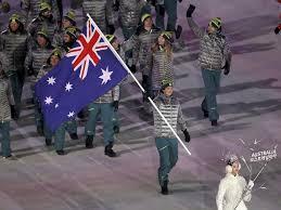 Ceremony Flag Pyeongchang Opening Ceremony